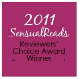 Sensual Reads 2011 Winner Best Sci-Fi Romance